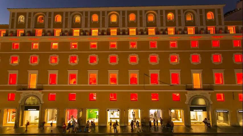 Nuovo edificio «La Rinascente», Roma